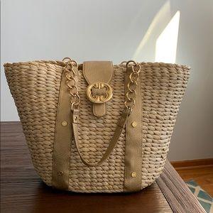 Emma Fox straw summer bag